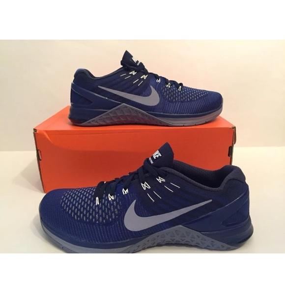 bc88a9f04b67 Nike Metcon DSX Flyknit Dark Royal Training Shoes